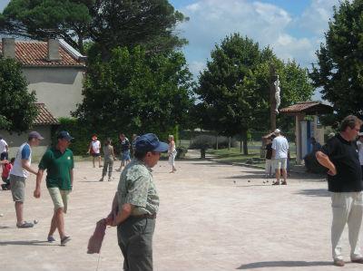 concours de Pétanque en 2007