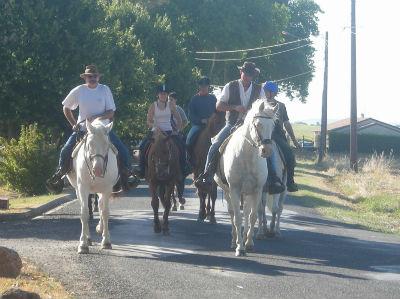 Les randonneurs equestres de retour (2009)